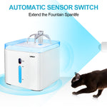 cat water fountain automatic switch