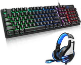 NPET K10 Gaming Keyboard and Headset Combo