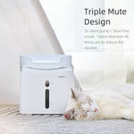 mute cat water fountain