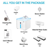 water fountain package list