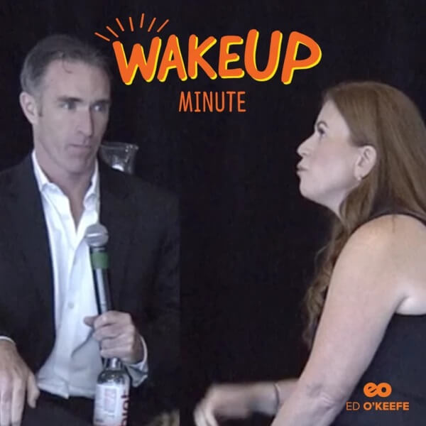 The Mission Behind WakeUp Foods with Ed O'Keefe, Founder of WakeUp Foods and CEO of Marine Essentials.