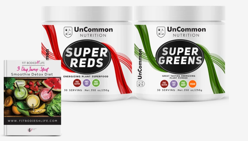Super Greens & Reds +  3 Day Detox (Normally $19-FREE)
