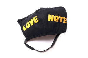 LOVE/HATE MASK (BLACK?GOLD)