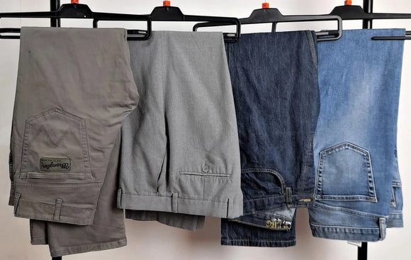 Men's Second-Hand Trousers and Shorts