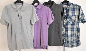 Men's Clothes Bundle 4 Assorted Tops Size Medium
