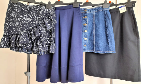 Women's Clothes Bundle 4 Assorted Skirts Size 10