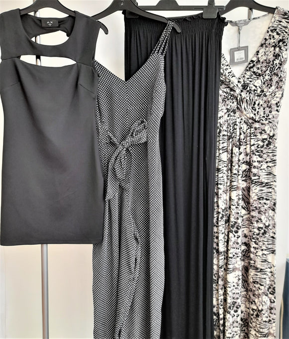 Women's Clothing Bundle 4 Assorted Dresses Size 12