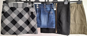 Women's Clothing Bundle 4 Assorted Skirts Size 14