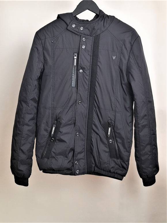 Men's Fabric of Life Black Jacket Size Small RRP £44.99