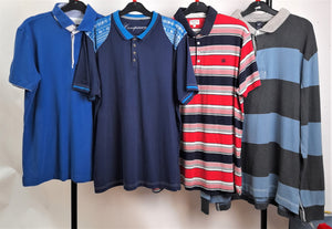 Men's Clothes Bundle 4 Assorted Polo T-Shirts Size XL inc Next and Gap