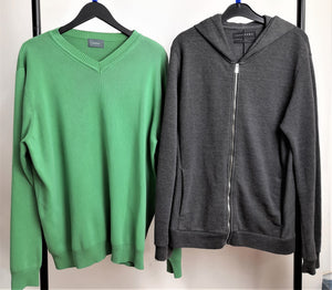 Men's Clothes Bundle 2 Jumpers Hawkshead and Zara Size Large