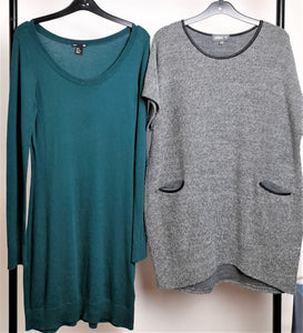 Women's Clothes Bundle 2 H&M and Apricot Jumper Dresses Size Medium
