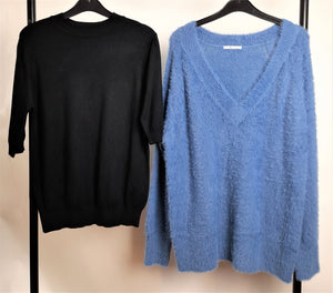 Women's Clothes Bundle 2 Assorted Jumpers Size 16