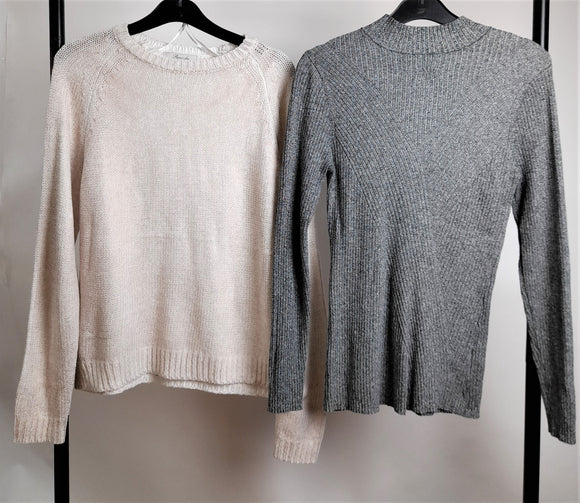 Women's Clothes Bundle 2 Assorted Jumpers Size Medium Inc. H&M
