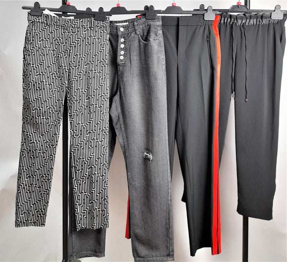 Women's Clothes Bundle 4 Assorted Trousers Inc. Zara Size Small