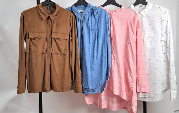 Women's Clothes Bundle 4 Tops Madewell, Masai, Gap, Forever 21 Size Small