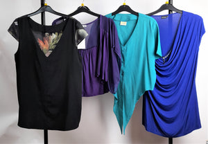 Women's Clothes Bundle 4 Assorted Shirts Inc. Dorothy Perkins Size 16