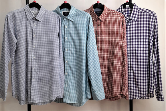 Men's Clothes Bundle 4 Assorted Shirts Inc. Uniqlo, Charles Tyrwhitt, J Crew Size Small