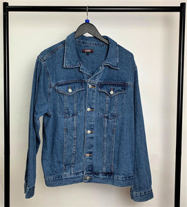 Men's Trader Denim Jacket Size Large