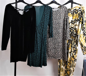 Women's Clothes Bundle 4 Assorted Dresses Inc M&S, M&Co, Size 14