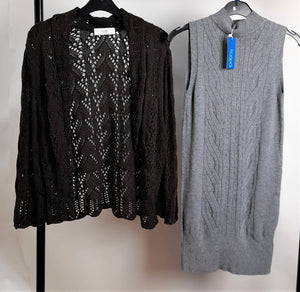 Women's Clothes Bundle 2 Assorted Jumpers Inc. Wallis Size Large