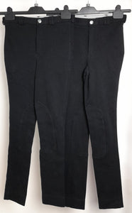 Women's Bundle 2 Assorted Wessex by Shires Equestrian Riding Jodhpurs Trousers Waist Size 28