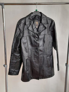 Women's Advantage London Vintage Leather Jacket Size 12