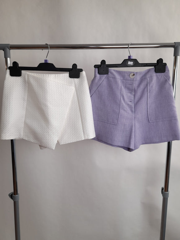 Women's Clothes Bundle 2 Assorted Topshop Shorts Size 8