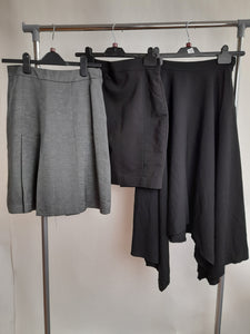 Women's Clothes Bundle 3 Assorted H&M Skirts Size 6