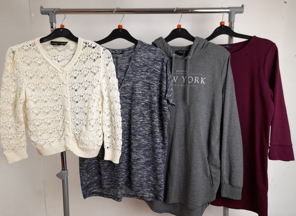 Women's Clothes Bundle 4 Assorted Tops Inc. Topshop Size 10