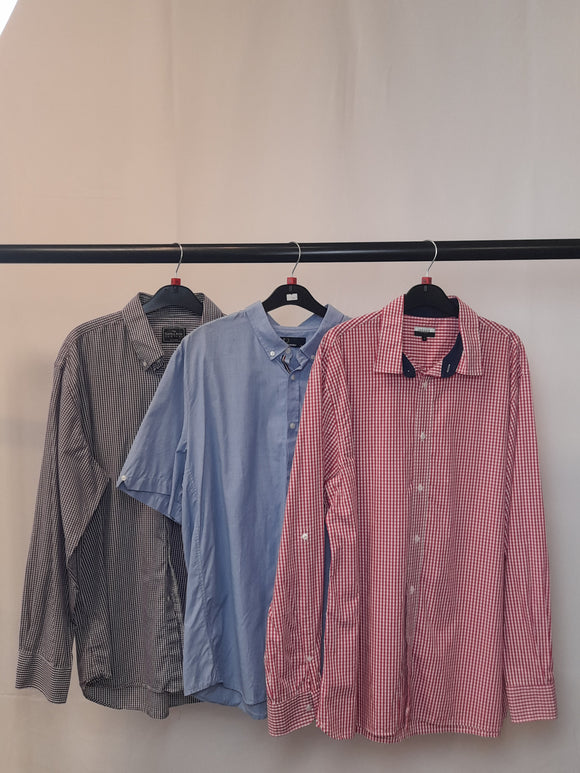 Men's Clothes Bundle 3 Assorted Shirts inc. Jaeger and Fred Perry Size XL