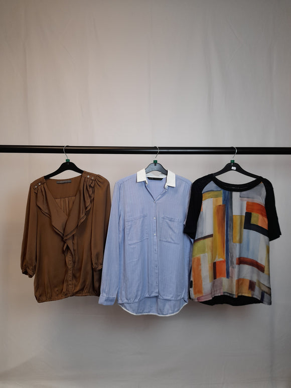 Women's Clothes Bundle 3 Zara Tops Size Medium