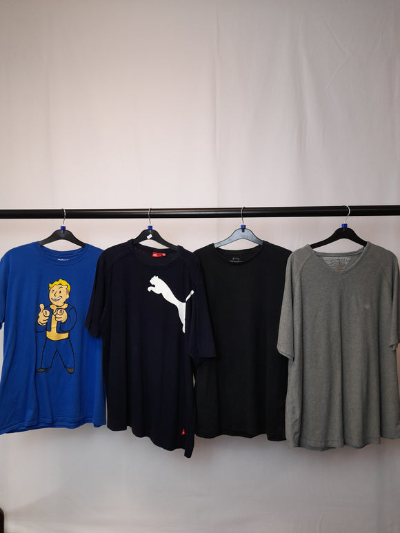 Men's Clothes Bundle 4 Assorted Tops Inc. Puma and FatFace Size Large