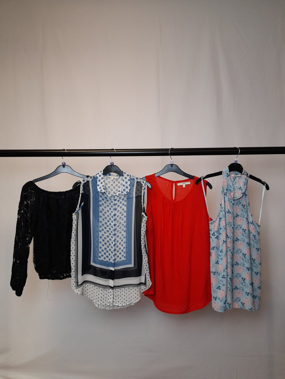 Women's Clothes Bundle 4 Assorted Tops Inc. 2x Next Size 8
