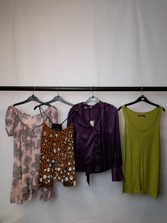 Women's Clothes Bundle 4 Assorted Tops Inc. Topshop Size 12