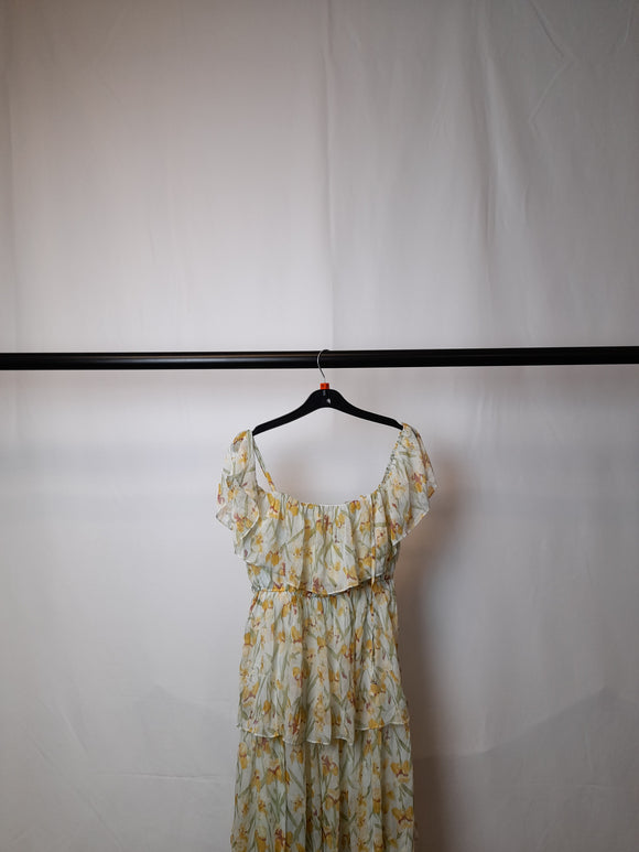 Women's Missguided Floral Midi Dress Still With Tags Size 10