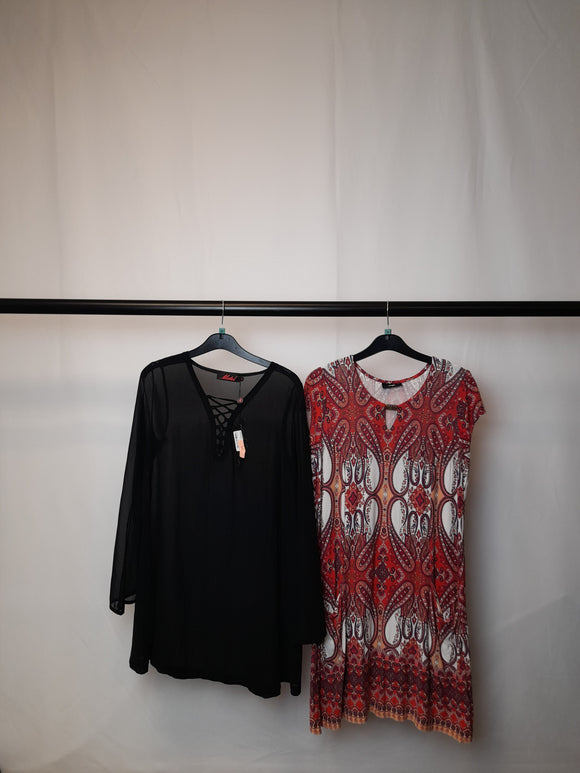 Women's Clothes Bundle 2 Wallis and Motel Dresses Size Medium 1x Still With Tags (Motel Dress Sheer)
