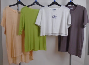 Women's Clothes Bundle - 4 Assorted Tops - Size Large
