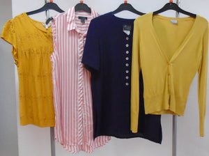 Women's Clothes Bundle - 4 Assorted Tops - Size 10