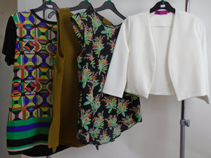 Women's Clothes Bundle - 4 Assorted Tops - Size 12