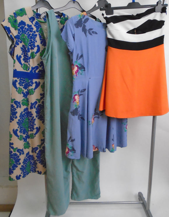 Women's Clothes Bundle - 4 Assorted Dresses - Size 14