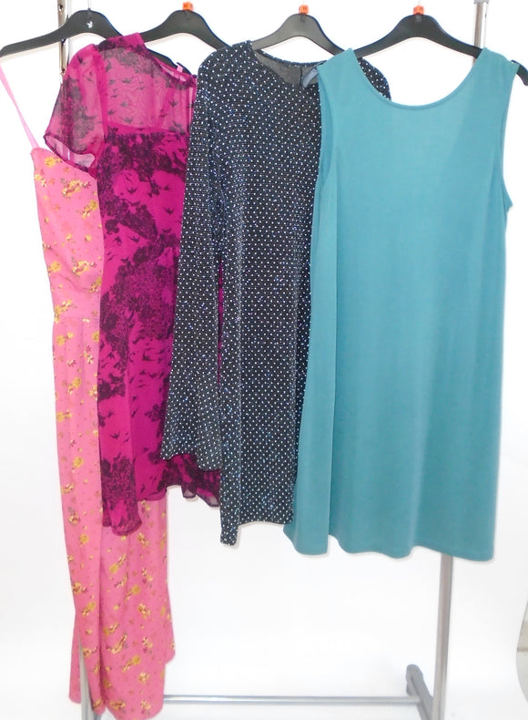 Women's Clothes Bundle - 4 Assorted Dresses - Size 10