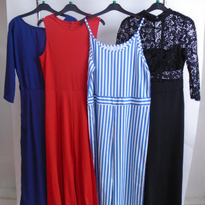 Women's Clothes Bundle - 4 Assorted Dresses - Size Medium