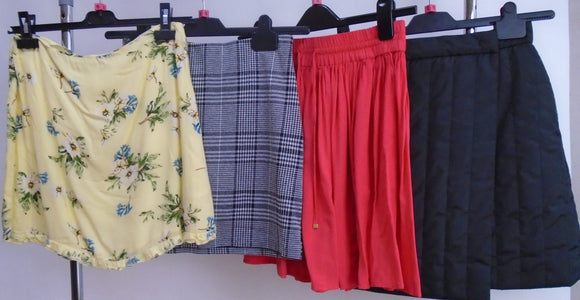 Women's Clothes Bundle - 4 Assorted Skirts - Size Small