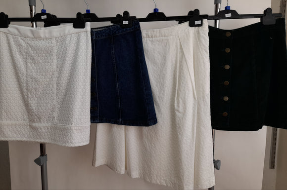 Womens Clothes Bundle - 4 Assorted Skirts - Size 14