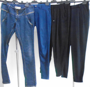 Women's Clothes Bundle - 4 Assorted Trousers - Size Small