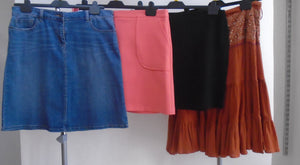 Womens Clothes Bundle - 4 Assorted Skirts - Size 16