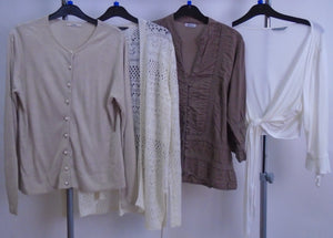 Women's Clothes Bundle - 4 Assorted Tops- Size 14