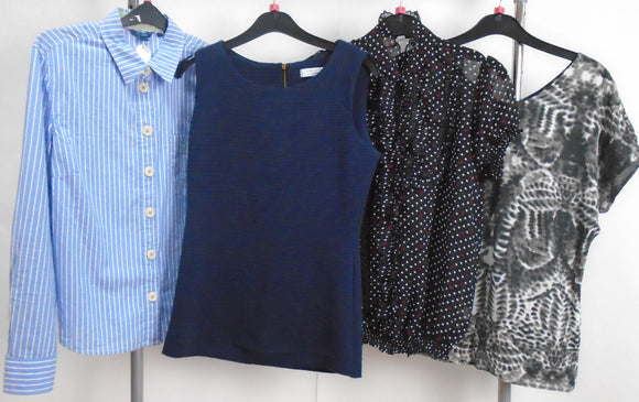 Women's Clothes Bundle - 4 Assorted Tops- Size Small
