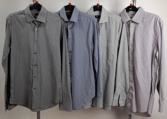 Men's Clothes Bundle 4 Assorted Shirts Size 15(1/2)